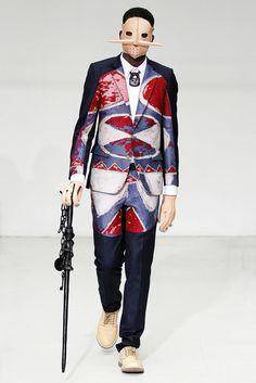 COOL CHIC STYLE to dress italian: Walter Van Beirendonck : Menswear Fall/Winter 2012 Ready-to-Wear Paris