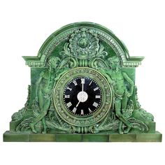 Terra Cotta Train Station Clock