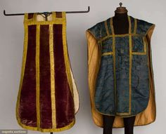 Brocade Chasuble, Italy, 1626-1650, Augusta Auctions, April 17, 2013 - NYC, Lot 316