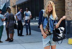 Street Style  New York Fashion Week.
