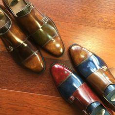Andres Sendra Monk shoes http://www.andres-sendra.com