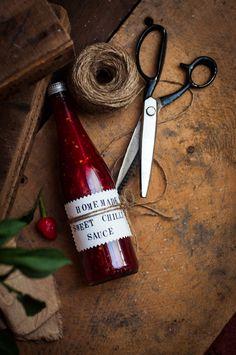 Homemade Sweet Chilli Sauce | Adeline & Lumiere
