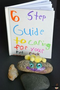Pet Rock Craft and Writing Activity                                                                                                                                                                                 More