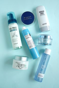 Summer is approaching! Get these cool blue products and feel refreshed with K-beauty! It's time to take care of your skin during the warm weather~