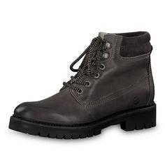 Tamaris Damen Stiefel 26462 RV Leder Boots Cognac (braun