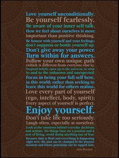 love yourself unconditionally - Anita Moorjani