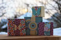 Polly kreativ: Vellum - das Mysterium - Boxen mit dem Envelope Punch Board