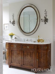 Sarah Richardson Design - London Flat (Master Bathroom) PMs - Kate Stuart and Tommy Smythe