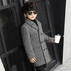 Little Boys Suits, African Dresses For Kids, Winter Overcoat, Kids Winter Fashion, Toddler Boy Fashion, Cute Baby Clothes, Boy Outfits, Trends, China Suppliers