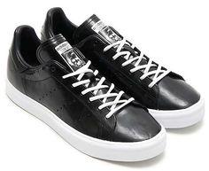 adidas Originals STAN SMITH VULC [Core Black / Running White] (B24541)