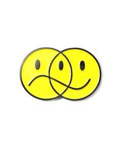 Happy Sad Venn Diagram Pin – Strange Ways