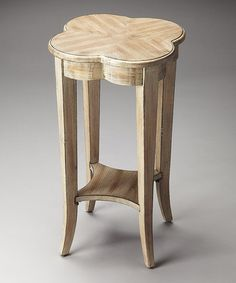 Look what I found on #zulily! Clover Accent Table #zulilyfinds