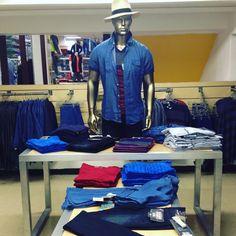 #Moda #Casual #Juvenil Departamento de #caballeros 2do. Piso #camisas #jeans #sombreros