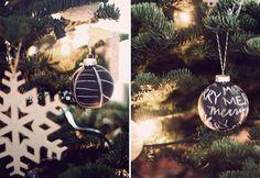 Kerstversiering maken: 8x creatief met krijtbord(verf) - Christmaholic.nl