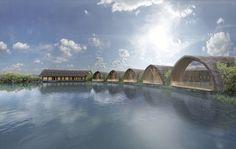 Vo Trong Nghia Architects divulga projeto de spa no Vietnã