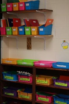 Clutter-Free Classroom: Peek into Other Classrooms: How Teachers Are Storing Their Math Materials