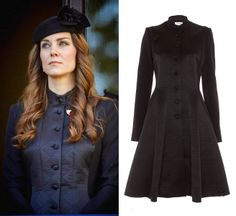 , by Temperly London. The coat has now gone in sale and is available at £625.