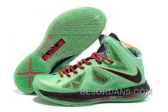 http://www.bejordans.com/60off-big-discount-854215653-2013-new-nike-lebron-10-x-green-black-red.html FREE SHIPPING! 60%-70% OFF! 854-215653 2013 NEW NIKE LEBRON 10 X GREEN BLACK RED Only $85.00 , Free Shipping!