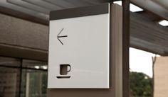 Odebrecht Building Signage by The Keenwork Design.