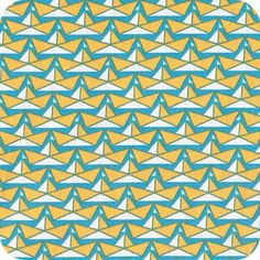 Folding boats - bleu