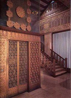 Interior : Guaranty Building, 28 Church St., Buffalo NY (1896)   Louis Sullivan