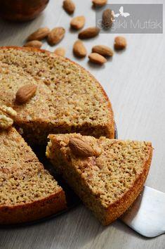 Badem Tozlu, Muzlu Islak Kek – Sağlıklı Mutfak