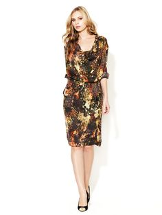 Davanee Silk Dress by Escada on Gilt.com