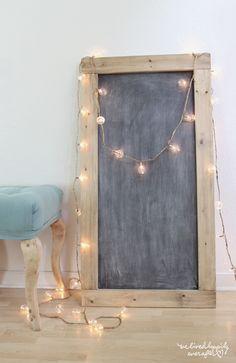 Make your own Massive DIY Chalkboard