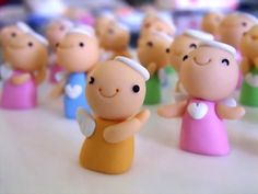 polymer clay 軟陶公仔 小天使 fimo by CiCi Fimo, via Flickr