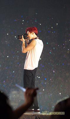 Chanyeol - 160717 SMTown Live World Tour V in Osaka Credit: mxmxmxmxoxo. Chansoo, Chanbaek, Baekyeol, Kpop Exo, Exo K, Chanyeol Baekhyun, Exo Ot12, Kim Junmyeon, Exo Members