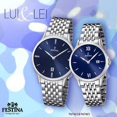 Lui&Lei in un look total #blue!
