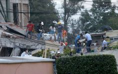 Mexico City earthquake: More than 200 dead, including 21 primary school children....