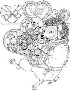 Hedgie's Valentine for You!