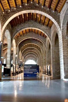 Temporary exhibitions at the Museo Marítimo of Barcelona: Pirates. Barcelona Tourism, Maritime Museum, Exhibitions, Pirates, Seaside, Culture, History, City, Museums