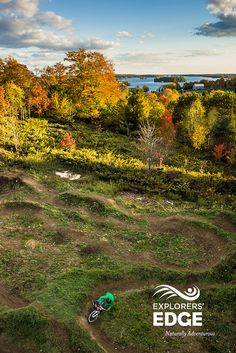 EFall mountain biking in Explorers' Edge - http://www.explorersedge.ca