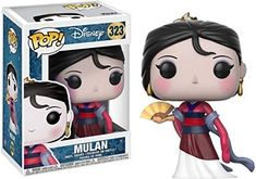 From Mulan, Mulan (new), as a stylized pop vinyl from Funko! figure stands 3 inches and comes in a window display box. Check out the other Mulan figures from Funko! collect them all! Disney Pop, Disney Pixar, Pop Vinyl Figures, Pop Figures Disney, Anime Pop Figures, Disneysea Tokyo, Suicide Squad, Funko Pop Anime, Funko Pop Dolls