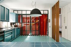 """chicagoarchitecturebiennial: """" Po-Mo Party: Point Supreme Revamp an Athens Apartment Point Supreme Architects, founded in Rotterdam in 2007 and now based in Athens, integrates research, architecture,..."""