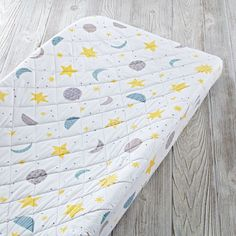 Our charming and colorful changing pad covers fit perfectly with our collection of changing tables and changing pads.