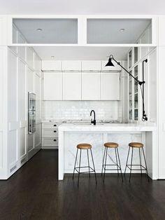 Apartment 34 by Hecker Guthrie Küchen Design, Layout Design, House Design, Interior Design, Design Ideas, Bar Designs, Interior Decorating, Design Concepts, Design Styles