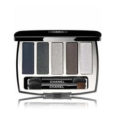 Chanel Beauty Architectonic Eyeshadow Palette found on Polyvore featuring beauty products, makeup, eye makeup, eyeshadow, beauty, blue, eyes and palette eyeshadow
