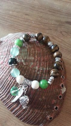 Opportunity, Prosperity, Calm, Good Luck and Protection Bracelet | Healing Stones Jewelry, Gemstones Jewelry, Tutu Dresses