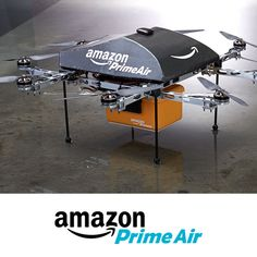 Prime Air is a future delivery system designed to get packages into customers hands in 30 minutes or less using unmanned aerial vehicles.