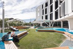 The recently completed Curtin Medical School and its landscape spaces (courtyard, entry and streetscape) provides a trans-formative new teaching facility with state-of-the-art technology, modern teaching & learning spaces and landscape interventions that represent latest evidence based principles around student experience and learning outcomes as well...