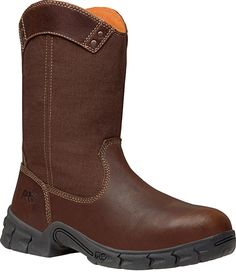 Timberland Pro Work Boots on BootBay Timberland Classic, Timberland Pro, Steel Toe Work Boots, Cool Boots, Brown Boots, Fashion Boots, Rubber Rain Boots, Riding Boots, Chelsea Boots