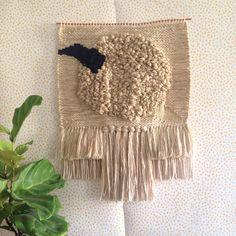 Weaving woven wall hanging tapestry by Maryanne Moodie Weaving Textiles, Weaving Art, Loom Weaving, Tapestry Weaving, Hand Weaving, Weaving Wall Hanging, Tapestry Wall Hanging, Textile Courses, Boho Diy