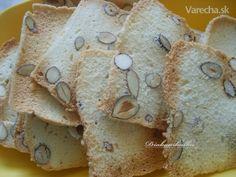 Mandľové sucháre (fotopostup) - Recept