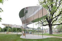 Serpentine Gallery Pavilion 2009 by Kazuyo Sejima + Ryue Nishizawa / SANAA. Serpentine Gallery Pavilion 2009 by Kazuyo Sejima + Ryue Nishizawa / SANAA. Backyard Canopy, Garden Canopy, Diy Canopy, Canopy Outdoor, Canopy Tent, Canopy Lights, Canopies, Hotel Canopy, Urban Design