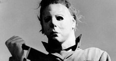 "Michael Myers is the best boogeyman around - ""Halloween"" is still the best slasher film Halloween Film, Theme Halloween, Halloween Horror, Happy Halloween, Halloween Sayings, Halloween Icons, Halloween Magic, Horror Films, Monsters"