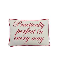 Practically Perfect - Small Cushion