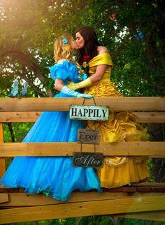 Belle & Cinderella Is A Modern Fairytale